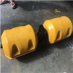 内径50mm海上围栏浮拦用浮漂 PE滚塑浮筒定制批发