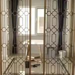 普兰从这里开始欧式铝艺屏风欧式家居