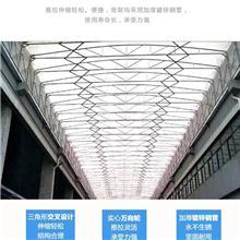 惠城区云山户外自动伸缩雨棚 移动伸缩遮阳棚 定做批发