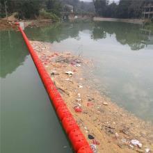 水电站组合式水面挡渣拦截漂流垃圾的拦污浮筒