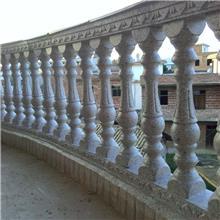 阳台护栏水泥制作 水泥仿木栏杆价格定位