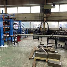 伸缩悬臂式货架改善管材圆钢角钢槽钢角铁轴在车间仓库的存储环境