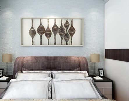 硅藻泥 >硅藻泥主卧装修 硅藻泥主卧床头效果图     女生卧室的设计