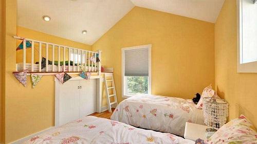 墙漆颜色 卧室适合什么颜色墙漆     蓝色沉静内敛,配合现代家装风格