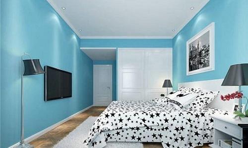 淡黄色能使人放松,适合搭配欧式风格的家具,能让房间更加的高贵