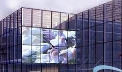 玻璃幕墙LED透明显示屏发展趋势研究分析