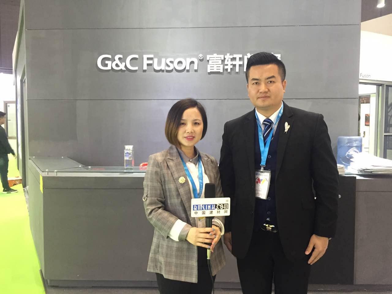 中国建材网专访富轩门窗市场部大区经理――吴廷远