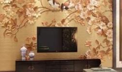 皮革硬包墙|整体艺术墙面|皮雕背景墙|品革背景墙