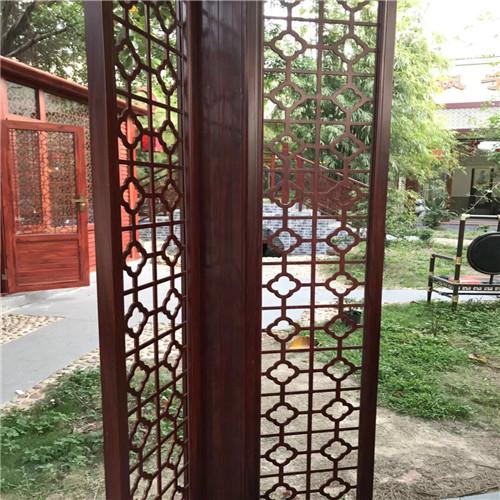 古典铝窗花效果展示图