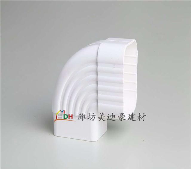 北京PVC天沟雨水管 屋面檐沟檐槽 PVC落水系统