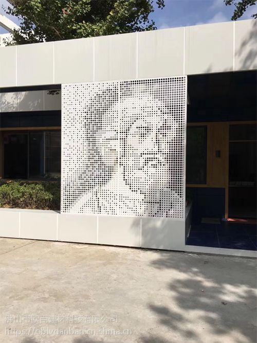 外墙图形冲孔铝板