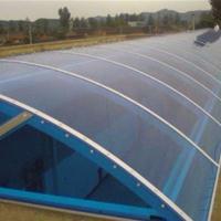 拜耳茶色湖蓝耐力板10mm双层阳光板采光隔音