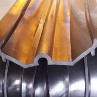 梯形背贴式橡胶止水带安装方法