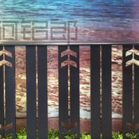 浙江宁波阿铝郎铝艺栏杆厂家-现代简约风格铝艺栏杆、日式护栏