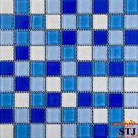 尚陶居-专业提供水晶玻璃马赛克  纯色混色