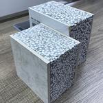 供应轻质隔墙板 75mm 轻体隔墙硅酸钙板