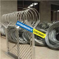 百瑞专注生产304不锈钢刀片刺绳 防盗刺绳 带刺铁丝绳锁