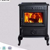 HIFlame产品HF446铸铁燃木真火壁炉