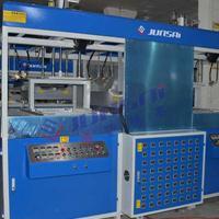 供应河南郑州箱包吸塑机 骏精赛生产全自动厚片吸塑成型机