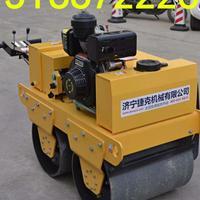 江苏小型手扶压路机视频 两钢轮振动压路机价格