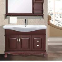 河南长葛橡木浴室柜厂家,长葛橡木,PVC浴室柜欧式美式浴室柜