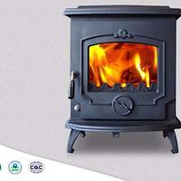 HiFlame HF233I古典欧式风格独立式铸铁锅炉 燃木真火壁炉