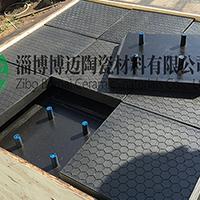 博迈陶瓷橡胶复合板,耐磨陶瓷复合板 三合一,二合一