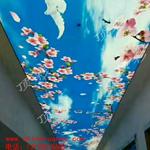 供应软膜天花彩绘天花拉展天花柔性天花软拉膜北京顶彩