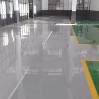 泰州环保地坪漆|南京车间地坪漆|厂房水泥地面绿灰 色地面漆