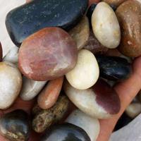 石家庄直销顺永2-3 3-5厘米精品五彩雨花石