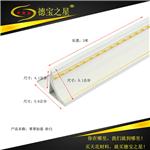广州厂家直供 集成吊顶 二级吕梁精美收边角 铝质收边线