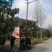 广西桂林道路仿古太阳能路灯 复古路灯批发报价找浩峰厂家LED路灯