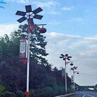 广西河池农村太阳能路灯 仿古路灯批发报价找浩峰厂家LED路灯