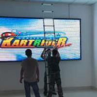 山东LED电子显示屏LED全彩屏一些常见故障及解决方案