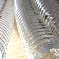 无毒无害透明钢丝管(耐高温高压钢丝软管)