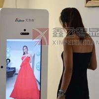 鑫飞智显55寸智能感应镜面高清镜面多媒体广告机