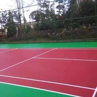 奥海硅PU篮球、羽毛球场