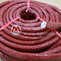 安徽地区耐高温玻纤绳 硅胶涂覆纤维绳生产厂家 供应商