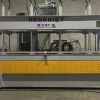 佛山市亨力特1.3X4.5米空调发泡板层压机多层压机