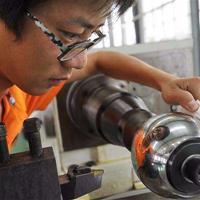 温州高压球阀球心球面镜面加工不锈钢镜面设备豪克能HK30C