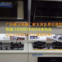 大品牌烟机灶具代理加盟欧普厨房电器厂家欧派厨电OEM贴白机