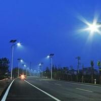 河南南阳镇平县7米40瓦太阳能路灯