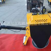 手扶式压路机 小型单钢轮混凝土压路机