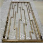 浙江不锈钢屏风厂家|不锈钢玻璃隔断供应