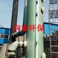 介绍玻璃钢烟气脱硫的石灰石干式直喷法-润泰