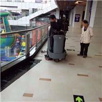 环氧漆地下车库用全自动驾驶式洗地机