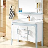 ACRRON艾瑞卫浴浴室柜组合PVC洗漱台洗脸盆浴室储物柜化妆镜Z-28