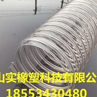 供应东北抽��灰钢丝软管200,刨花炕镀铜钢丝伸缩管价格