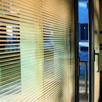 内置中空白叶玻璃磁控百叶中空玻璃办公室会议室隔断