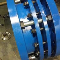 通化市RS球墨铸铁套管式伸缩接头是由四片法兰组成|厂家直销